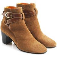 Fairfax and Favor Womens Kensington Boots Tan Suede 7 (EU41