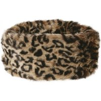 Dubarry Ladies Faux Fur Headband Leopard One