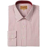 Schoffel Mens Cambridge Shirt Red 16.5 Inch