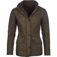 Barbour Womens Cavalry Polarquilt Jacket Dark Olive 6