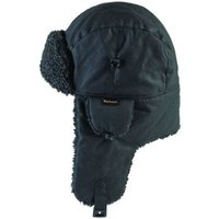 Barbour Fleece Lined Hunter Hat Black Small