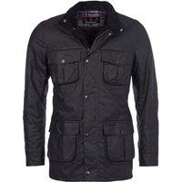Barbour Mens Corbridge Wax Jacket Black Medium