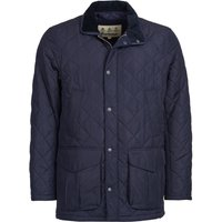 Barbour Mens Devon Quilted Jacket Navy Small