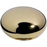 Samuel Heath - Oval Tilting Mirror Antique Gold Standard