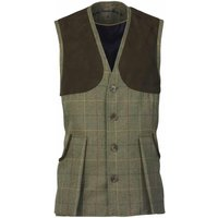 Laksen Bowcombe Shooting Vest Woodhay Tweed XXL
