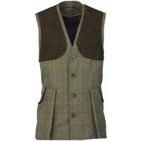 Laksen Mens Bowcombe Shooting Vest Woodhay Tweed Large