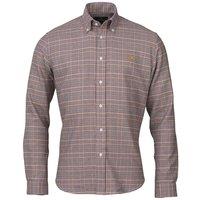 Laksen Harris Shirt Pine/Gorse/Bordeaux/Navy Medium
