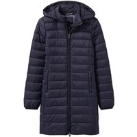 Crew Clothing Lightweight Long Hooded Jacket Navy 8