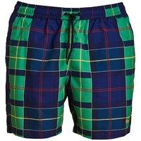 Barbour Tartan Swim Short Green XXL