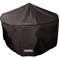 Bosmere Protector 6000 Circular Patio Set Cover 8 Seater Storm Black