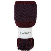 Schoffel Herringbone II Sock Mulberry/Aubergine/Forest Medium