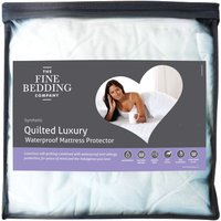 The Fine Bedding Company Quilted Luxury Waterproof Protector  Single