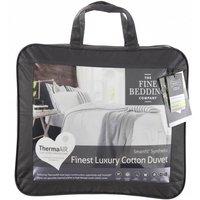 The Fine Bedding Company Luxury Cotton Duvet  Single
