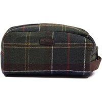 Barbour Tartan Wool Wash Bag Classic Tartan One