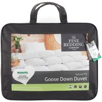 The Fine Bedding Company Goose Down Duvet  Single