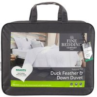 The Fine Bedding Company Duck Feather and Down Duvet  Double