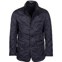 Barbour Mens Doister Polarquilt Jacket Black Medium