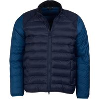 Barbour Mens Brocken Quilted Jacket Navy XXL