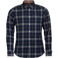 Barbour Highland Check 20 Tailored Shirt Blue XXL