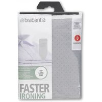Brabantia Metallised Cotton Ironing Board Cover 124 x 38cm (Size B)