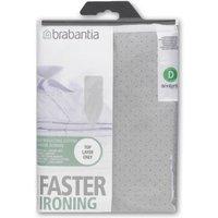 Brabantia Metallised Cotton Ironing Board Cover 135 x 45cm (Size D)