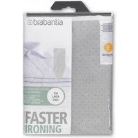 Brabantia Metallised Cotton Ironing Board Cover 135 x 49cm (Size E)