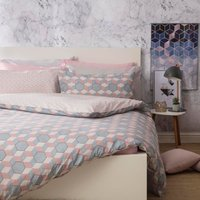 Belledorm Prism Duvet Set Cobalt Superking