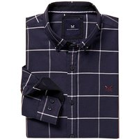 Crew Leighton Slim Shirt Heritage Navy Medium