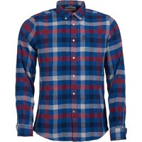 Barbour Country Check 5 Tailored Shirt Red XXL