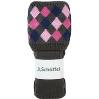 Schoffel Ladies Ptarmigan Sock Forest/Navy/Rose/Pink Small