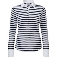 Schoffel Salcombe Shirt Harbour Stripe Navy 16