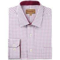 Schoffel Mens Cambridge Shirt Raspberry 18.5 Inch