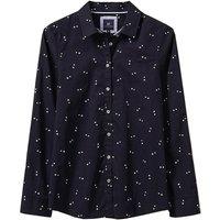 Crew Clothing Womens Alice Shirt Navy Double Dot 16