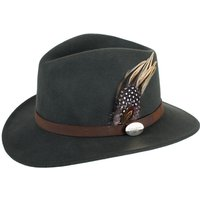Hicks & Brown Womens Suffolk Guinea & Pheasant Hat Olive Large