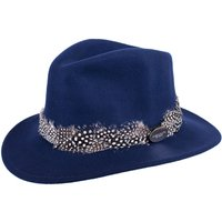 Hicks and Brown Womens Suffolk Guinea Wrap Hat Navy Large