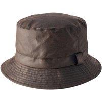 Heather Johnston Wax Bush Hat Brown Large