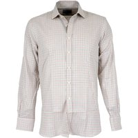 Purdey Mens Close Tattersall Shirt Rust 17