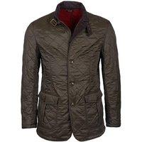 Barbour Mens Doister Polarquilt Jacket Olive Large