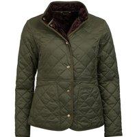 Barbour Jasmine Quilted Jacket Olive 12