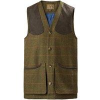 Musto Lightweight Machine Washable Tweed Waistcoat Balmoral XXL