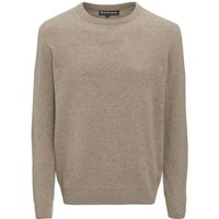 Barbour Mens Patch Crew Neck Sweater Stone Small