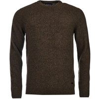 Barbour Mens Patch Crew Neck Sweater Willow Green Large