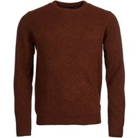 Barbour Mens Patch Crew Neck Sweater Bracken Small