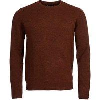 Barbour Mens Patch Crew Neck Sweater Bracken Small