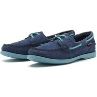 Chatham Pippa II G2 Deck Shoes Navy/Turquoise 4 (EU37)