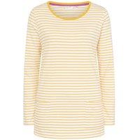 Lazy Jacks Ladies Long Sleeve Stripe Top Gorse 16