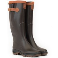 Aigles Parcours 2 Signature Wellington Boots Brown 9.5 (EU44)