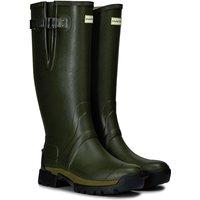 Hunter Balmoral Side Adjustable 3mm Neoprene Boots Dark Olive 7 (EU41)