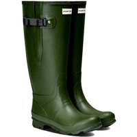 Hunter Womens Norris Wide Fit Boots Vintage Green 6 (EU39)