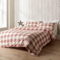 Christy Thurloe Duvet Set Red Single
